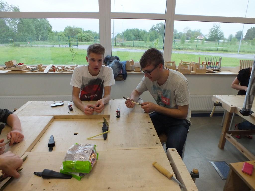 102 Workshops for students