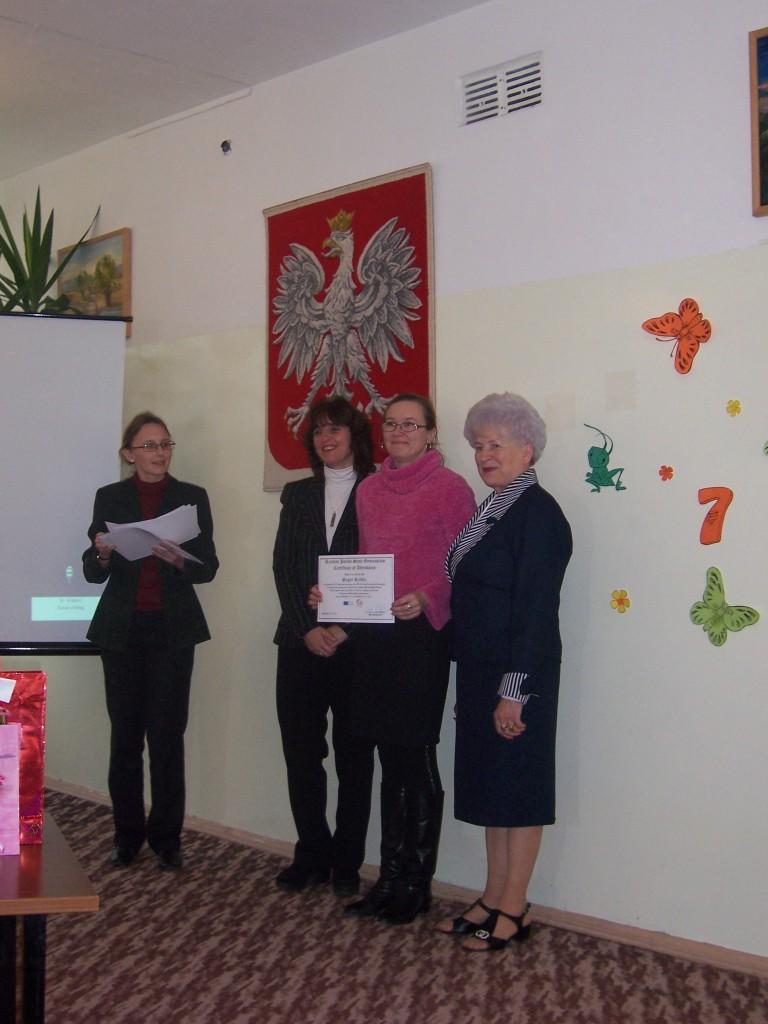120 Certificate of attendance