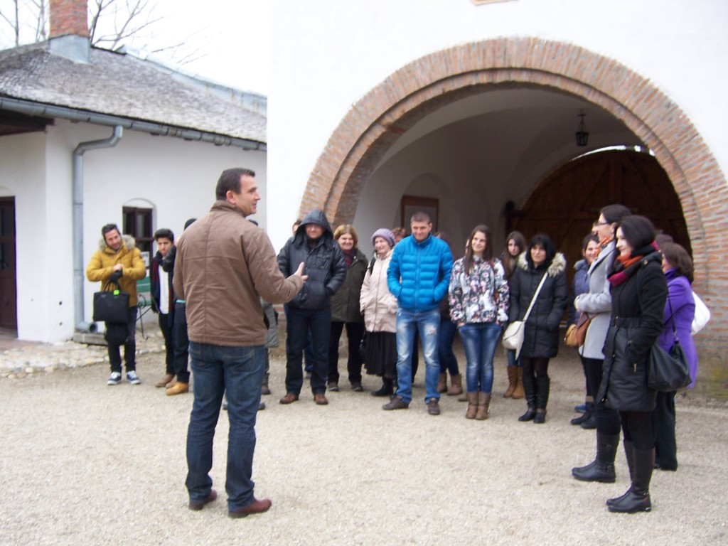 148 Visiting the Golesti museum