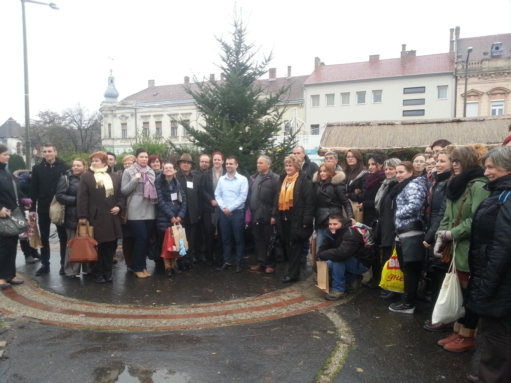 30Visiting the Town Hall and meeting the local authorities