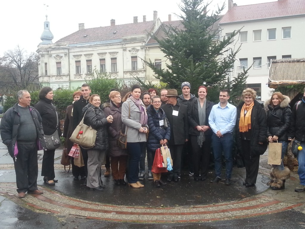 31Visiting the Town Hall and meeting the local authorities