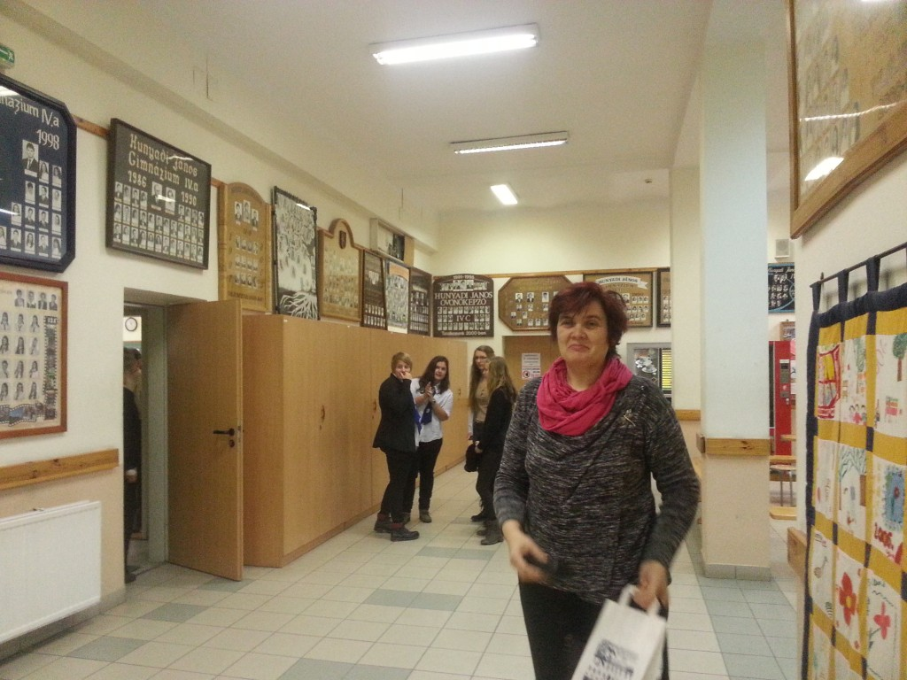 36Visit of the school