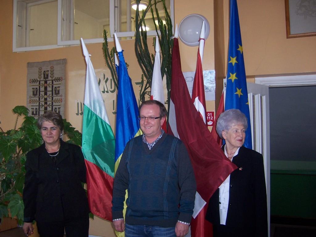 44 Bulgarian, Turkish and Latvian headteachers