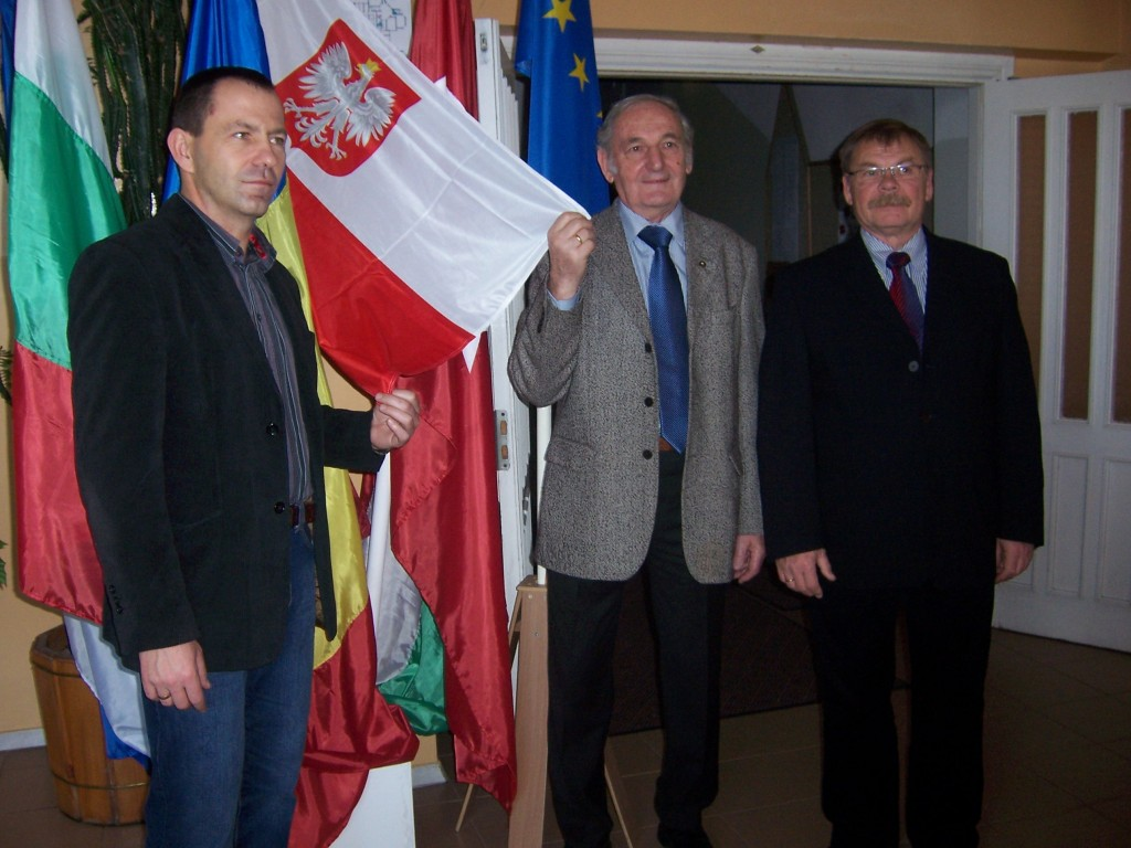 46 Polish headmaster with guests from Poland