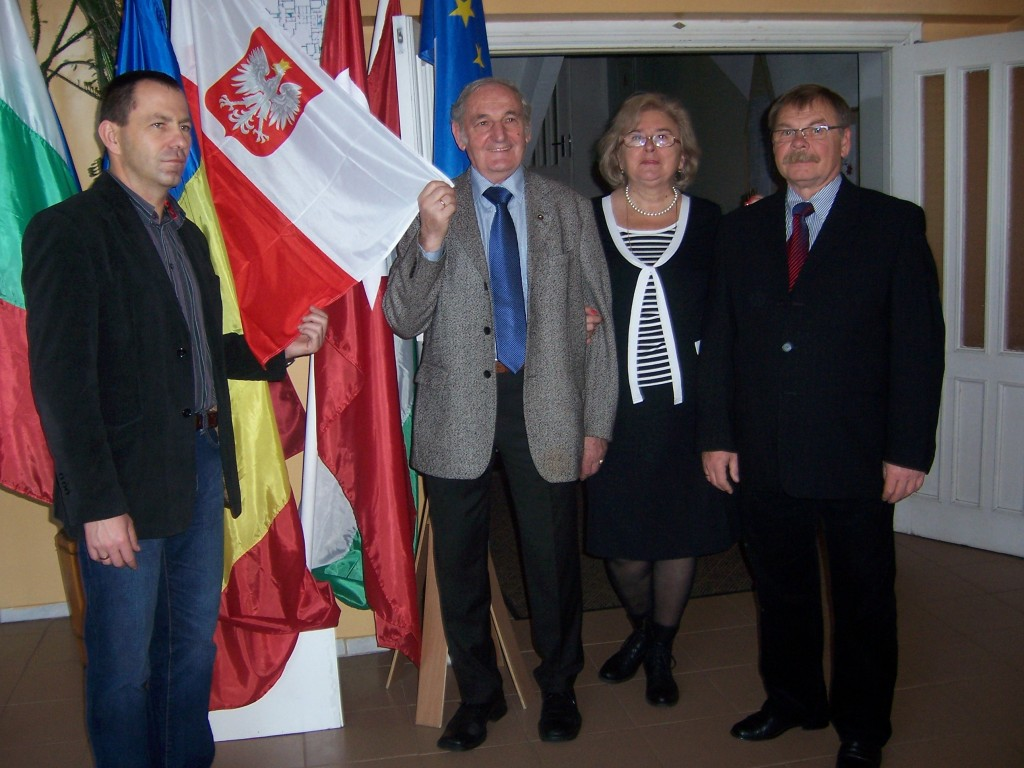 47 Polish headmaster with guests from Poland