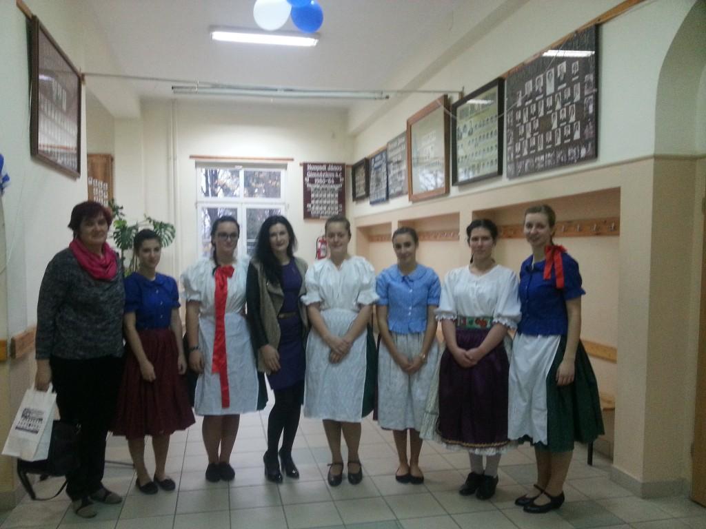 5Reception in the Hyniadi Janos Grammar School