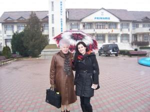 73 Visiting Costesti Town Hall