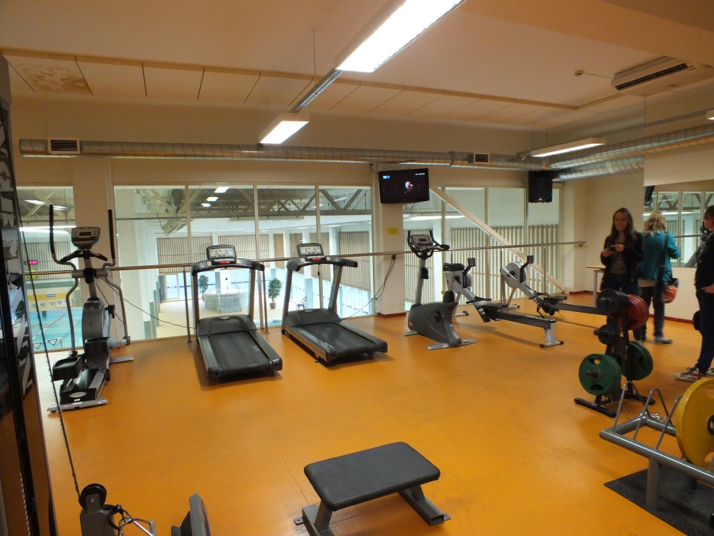87 Fitness centre