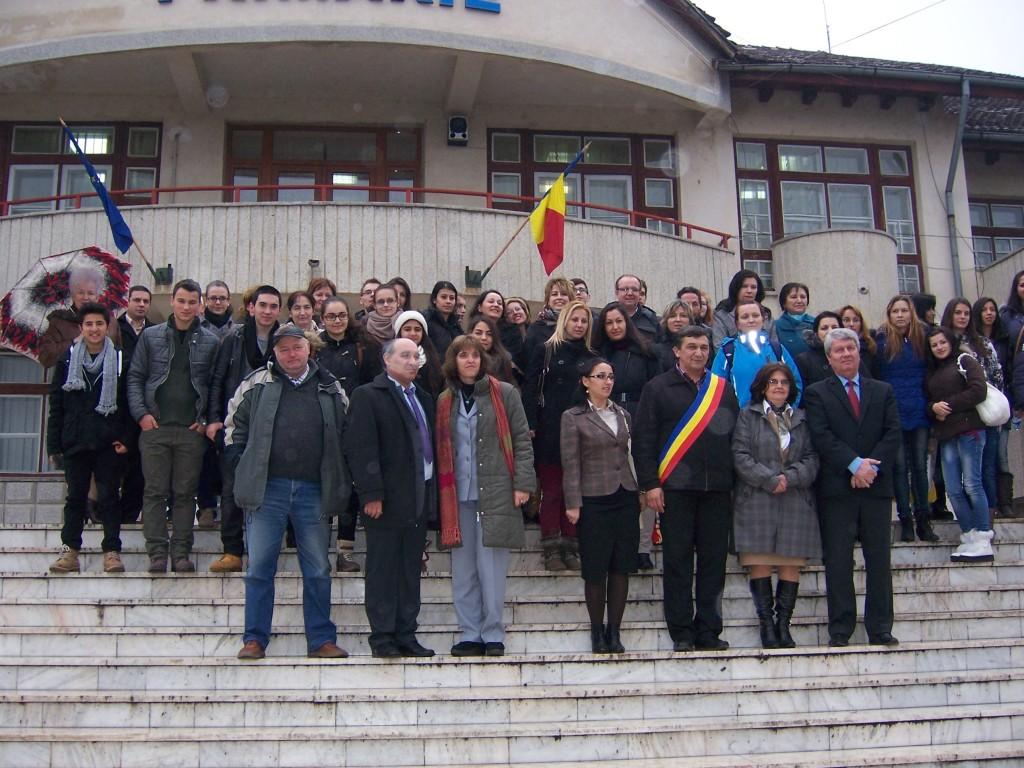 88 Visiting Costesti Town Hall