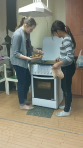 Gingerbread baking 11