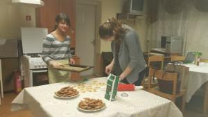 Gingerbread baking 2