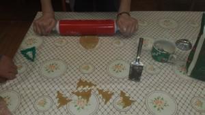 Gingerbread baking 6