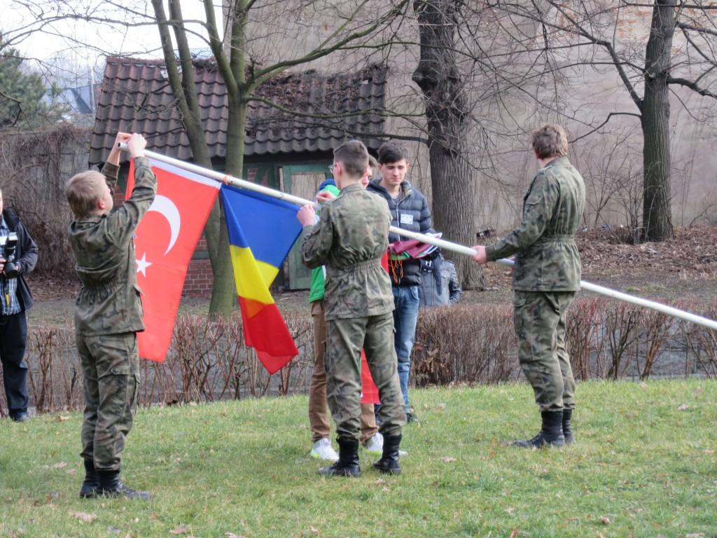 25 Flag Ceremony