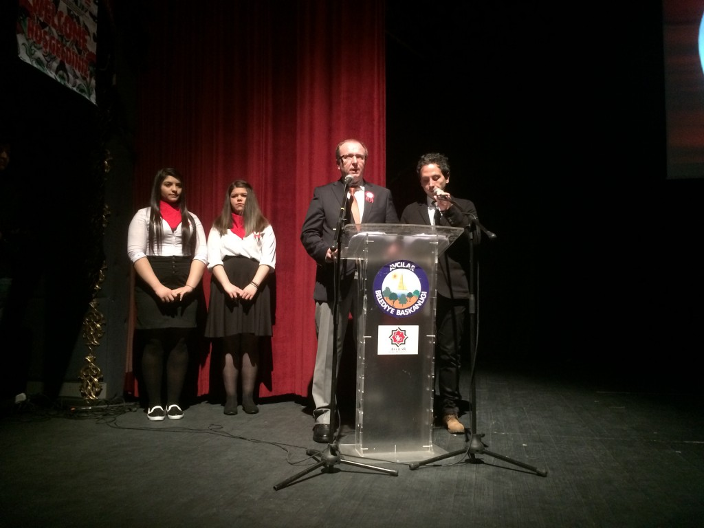4 Welcoming speech of Turkish headmaster