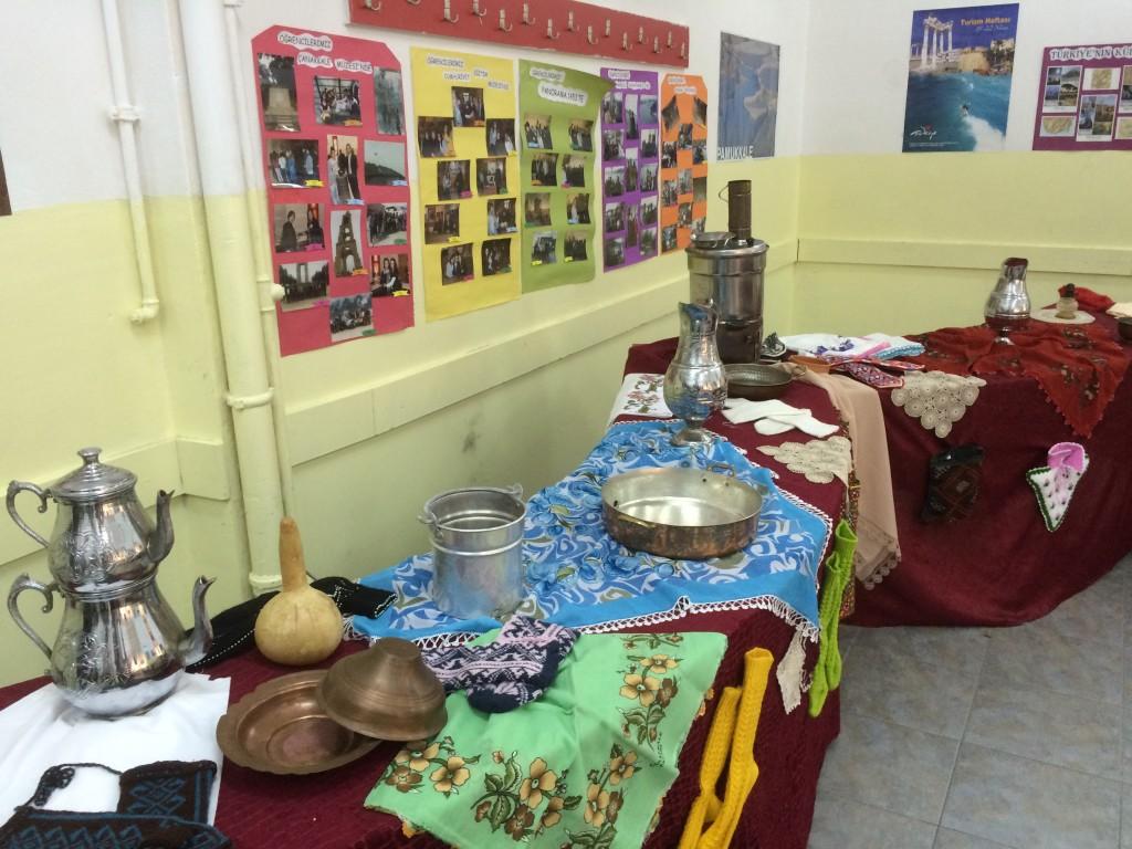 53 Exhibition at school