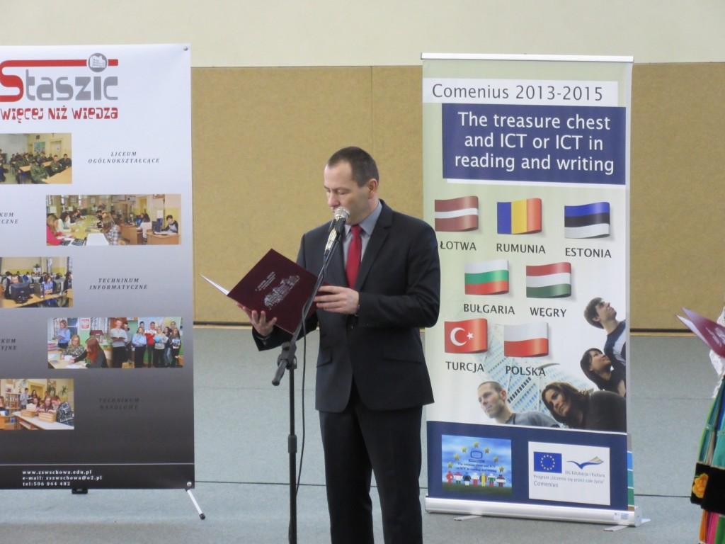 6 Welcoming speech of Polish headmaster