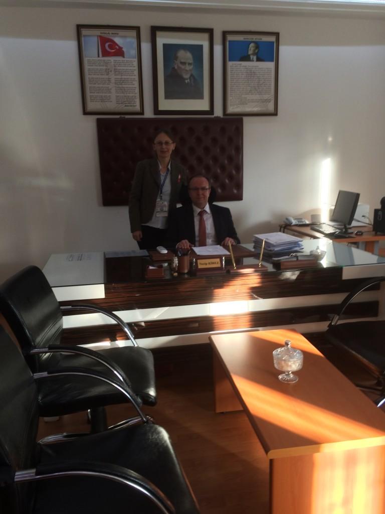 70 Turkish headmaster and Latvian coordinator