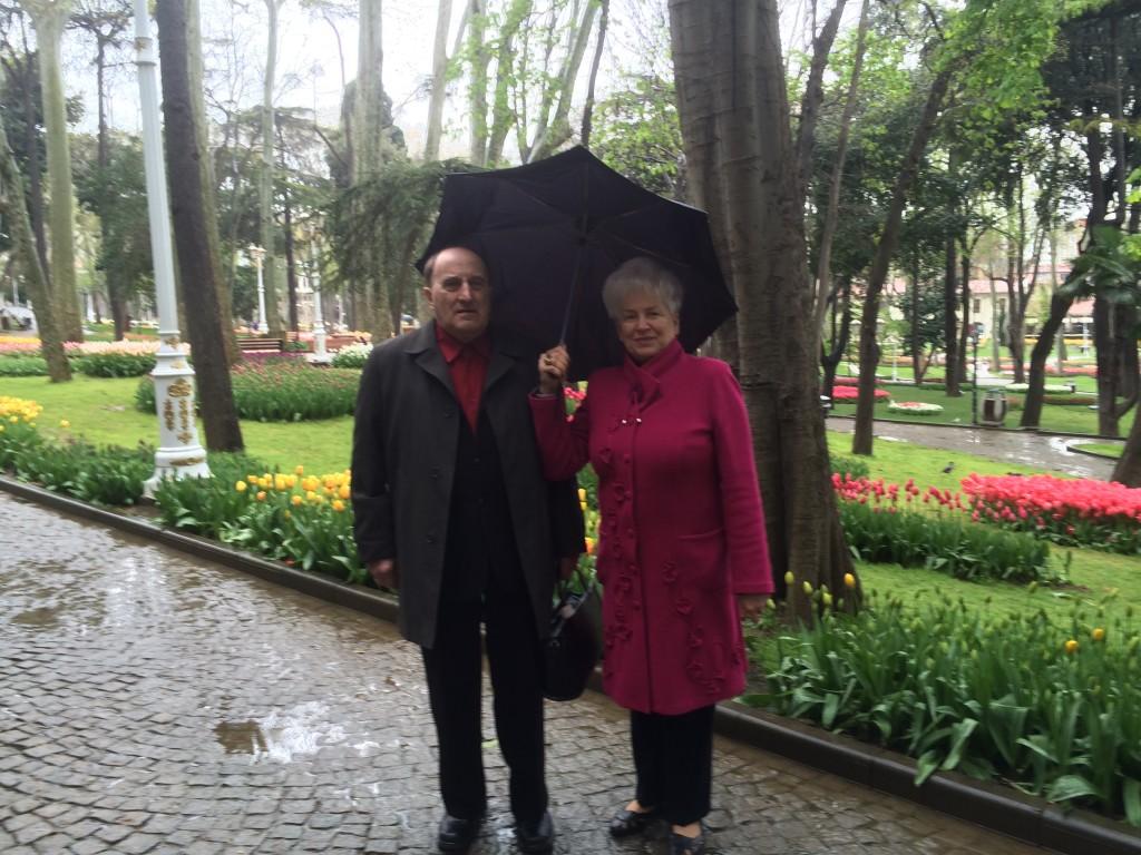 83 Latvian headmistress in the Gulhanane park