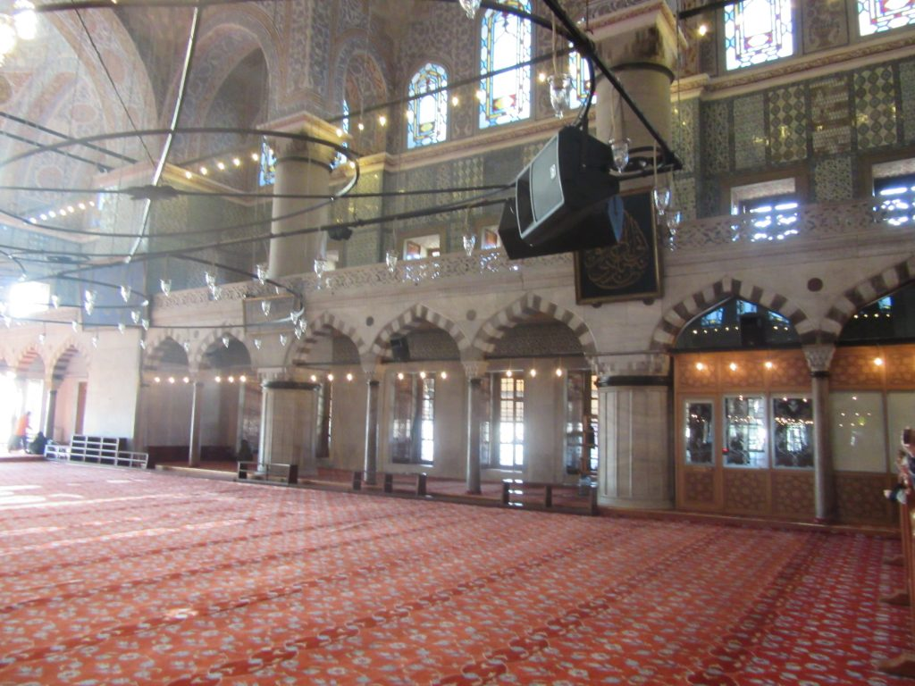 11. Inside the Sultan Ahmed Mosque