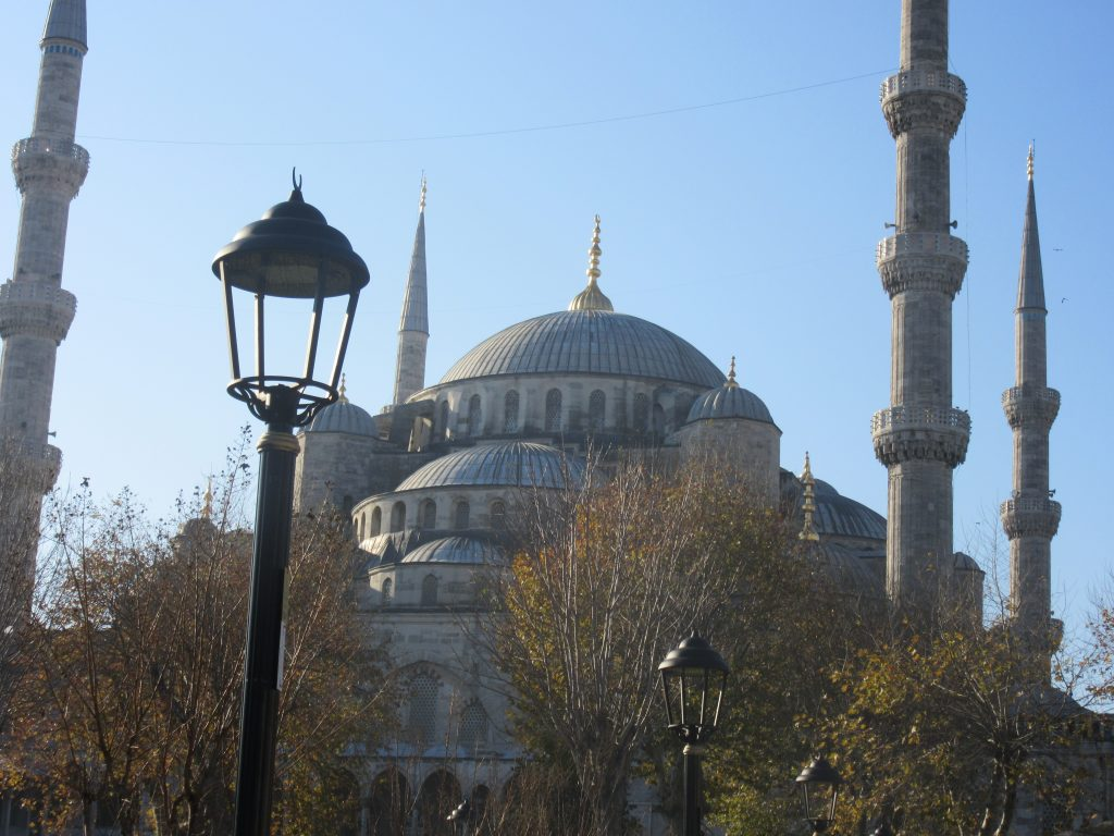 13. Minarets of the Blue Mosque
