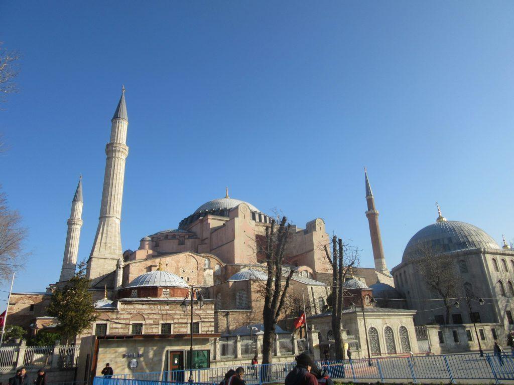 15. Inside Hagia Sophia
