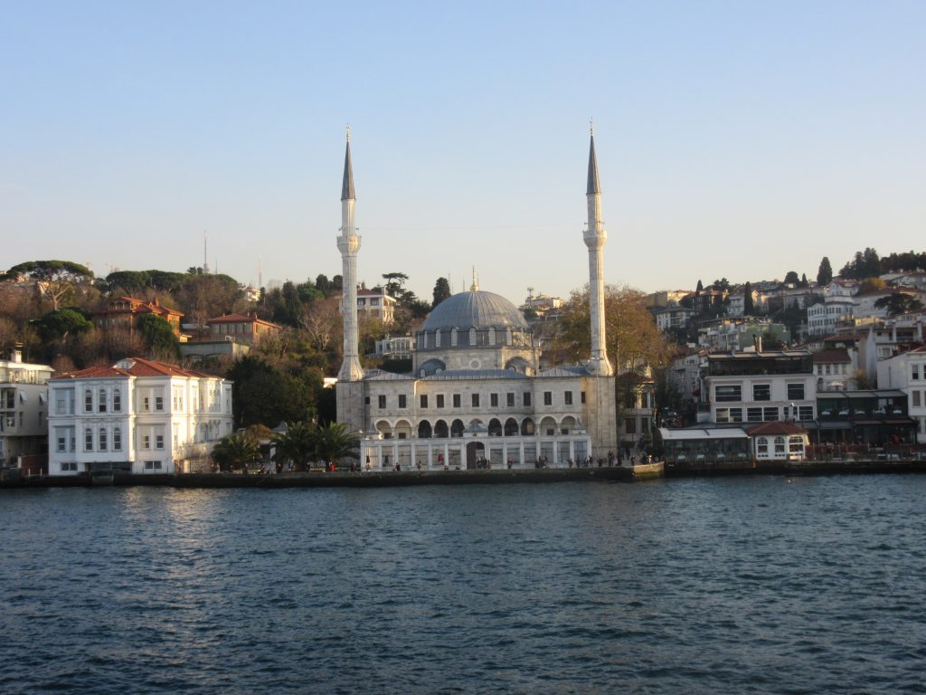 2. The eastern part of Istanbul