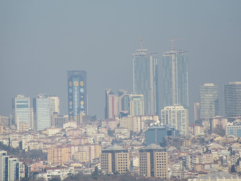 24. The view of Istanbul
