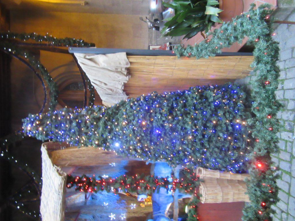 26. Christmas tree at the church