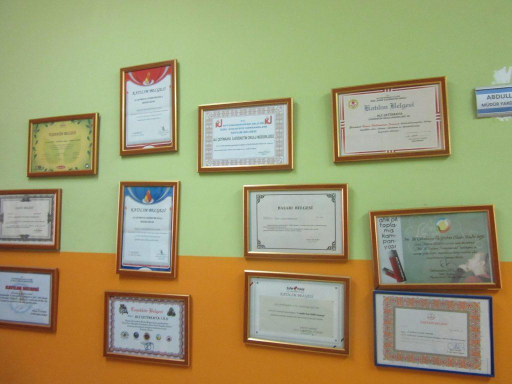 30. Certificates and diplomas