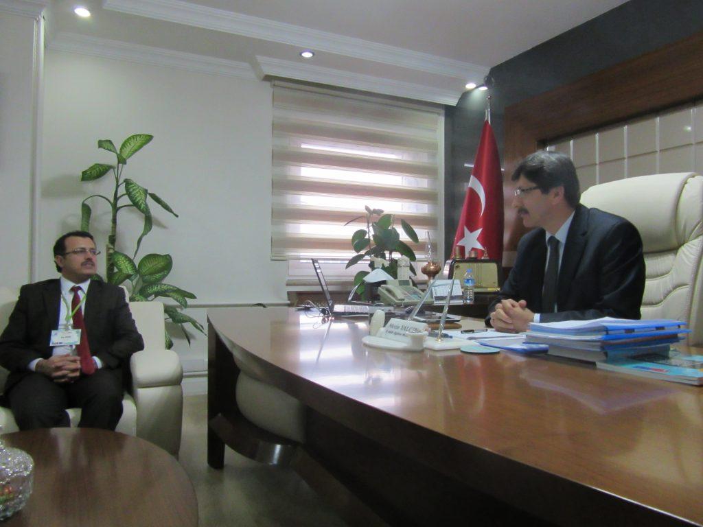 51. Visiting the head of Afyonkarahisar Educational department