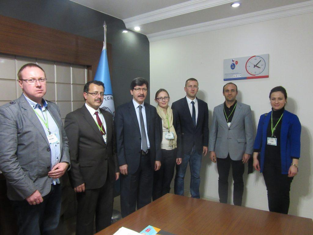 52. Visiting the head of Afyonkarahisar Educational department