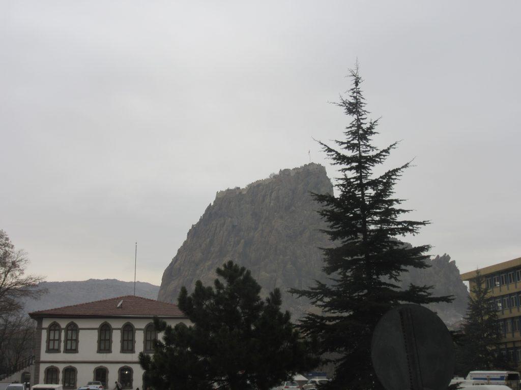 53. The mountain peak in Afyonkarahisar