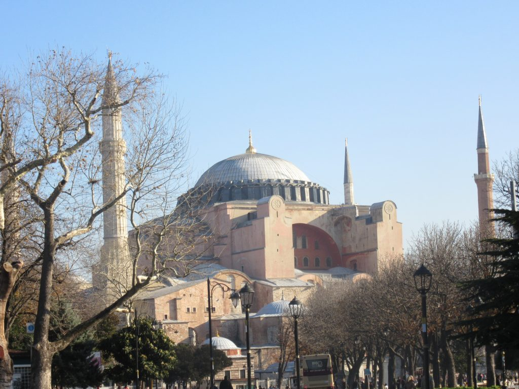 6. The Church of the Holy Wisdom, known as Hagia Sophia