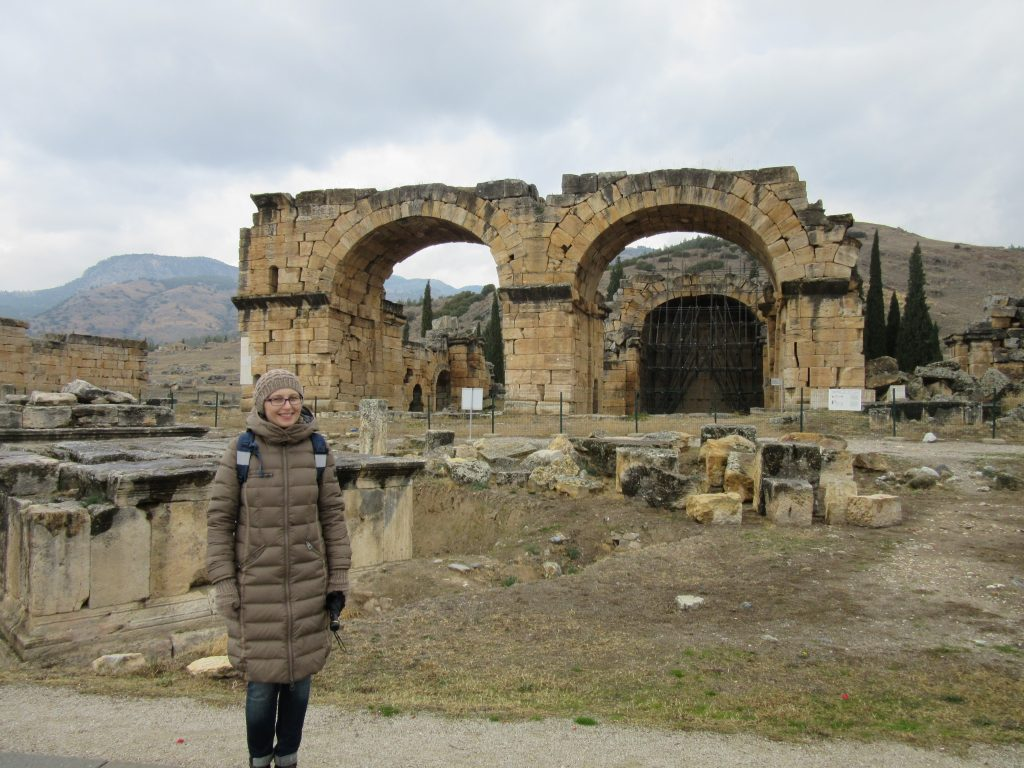 61. The ancient city of Hierapolis