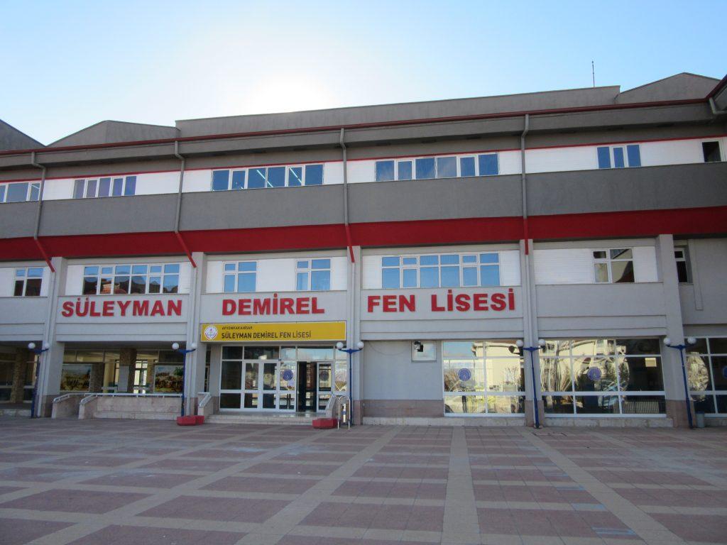 75. Science school Süleyman Demirel Fen Lisesi in Afyonkarahisar