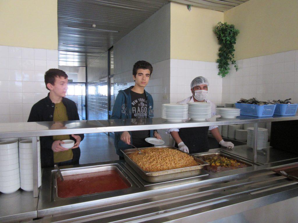 76. School canteen