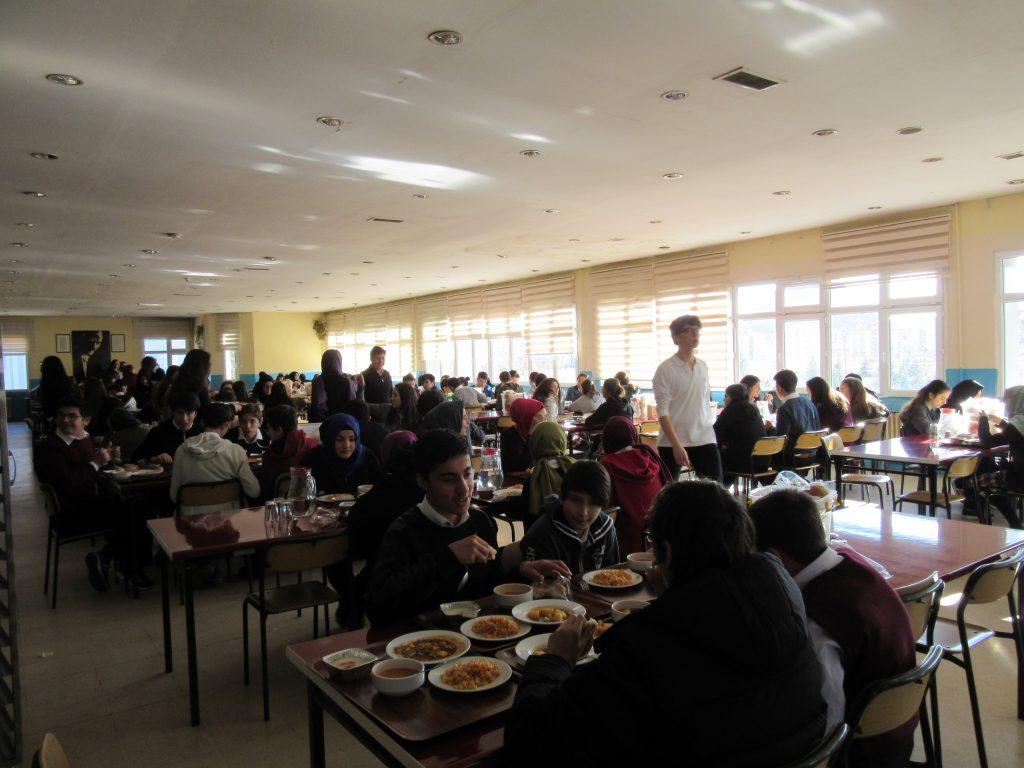 77. School canteen
