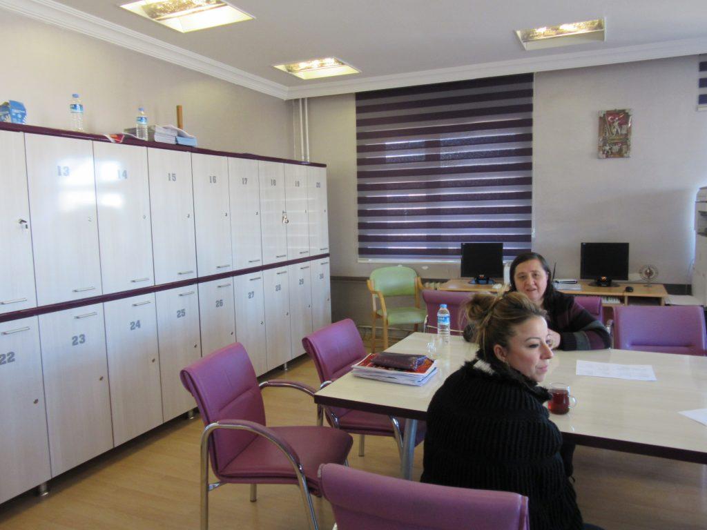 84. Teachers' room