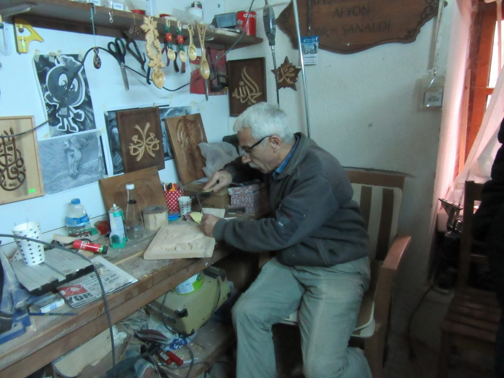89. In the creativity centre - woodworking workshop