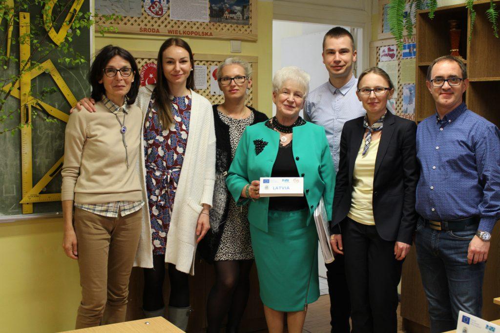 15. With Polish partners