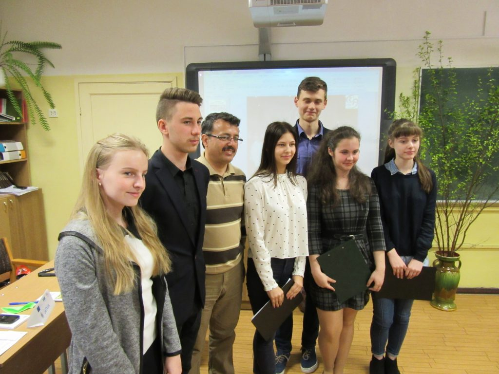 16. With Turkish headmaster