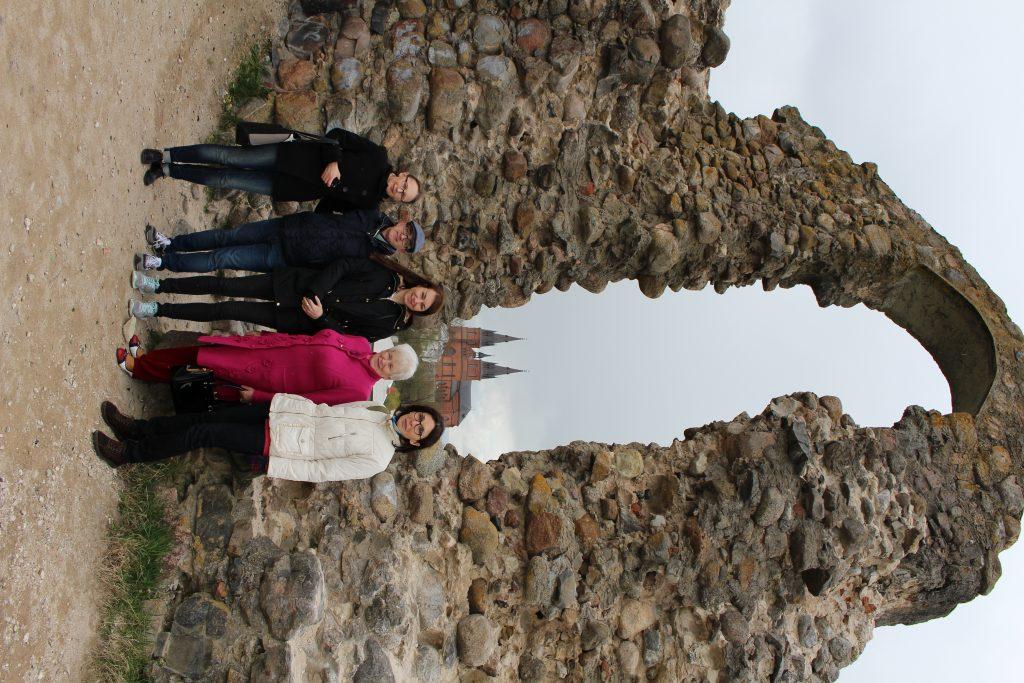 35. Castle ruins in Rezekne