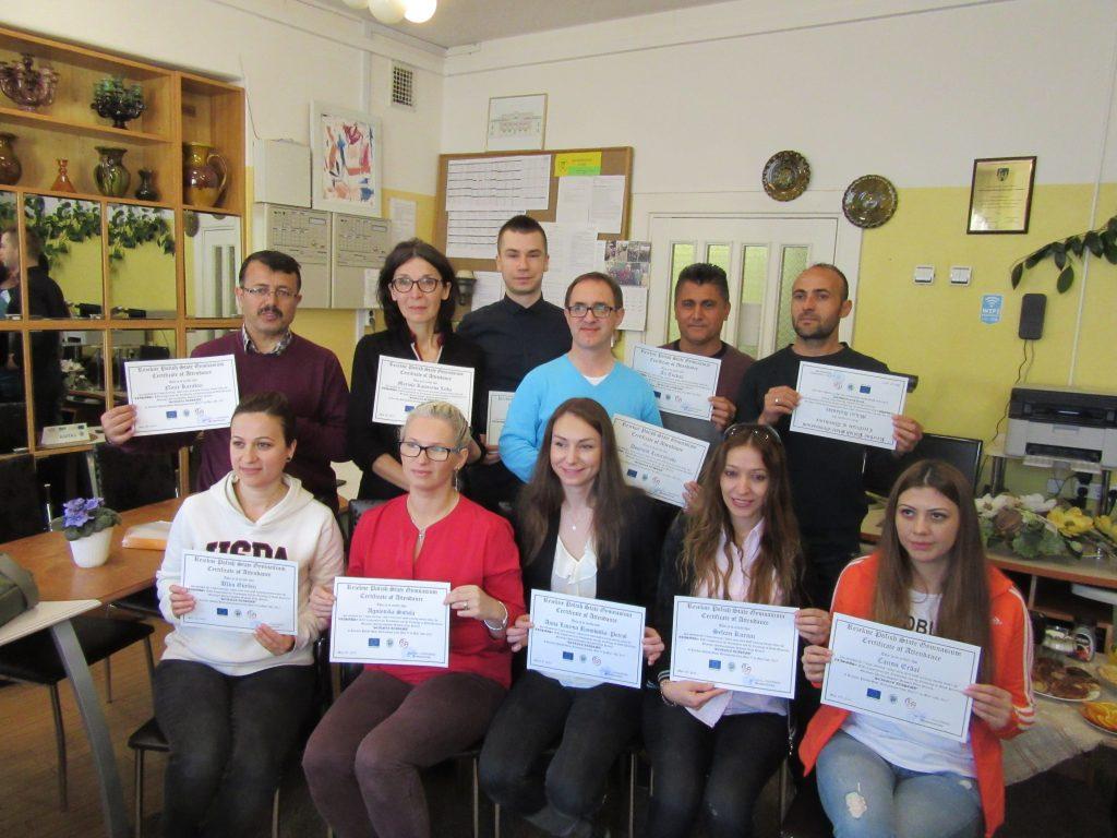 68. Presenting certificates