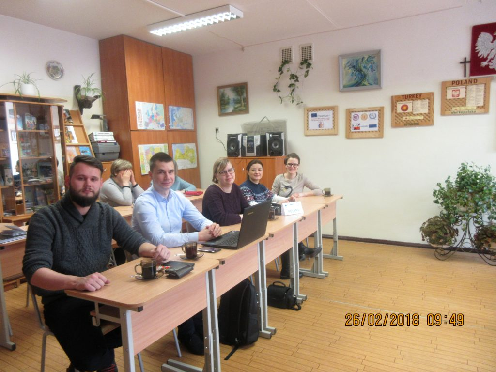 1. Project meeting