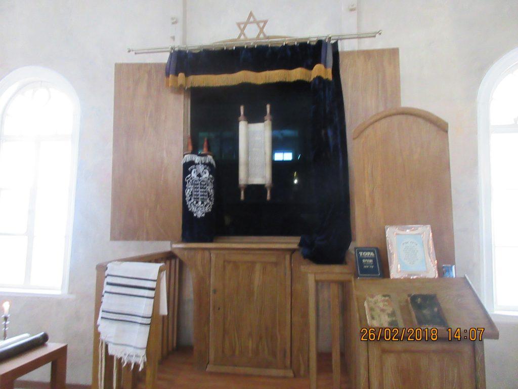 23. Tour around the synagogue