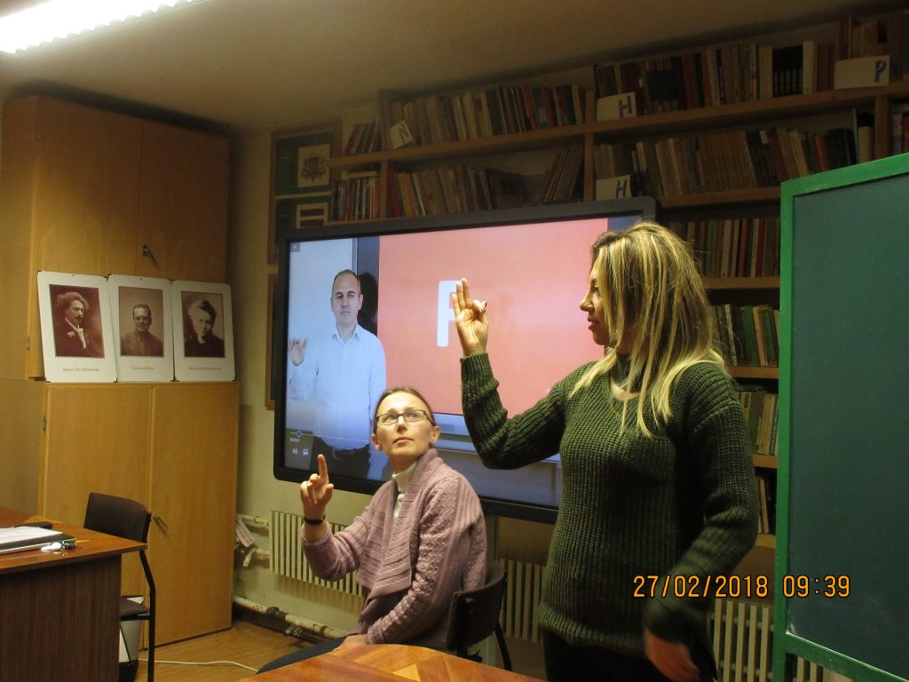 37. Learning the sign language