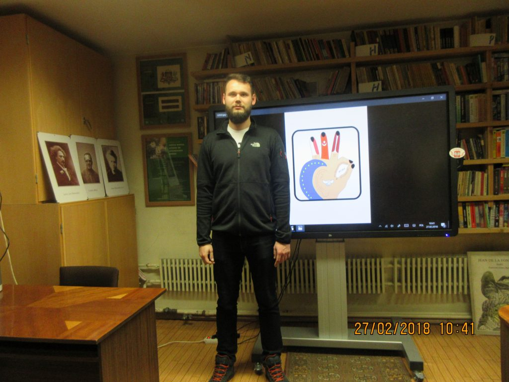 50. Learning the sign language