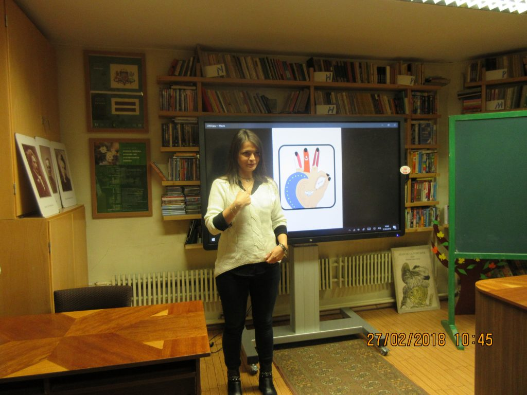54. Learning the sign language