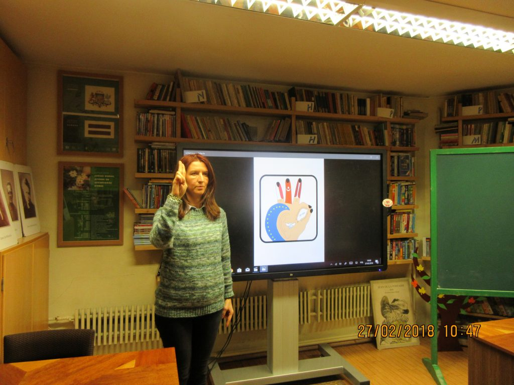 56. Learning the sign language
