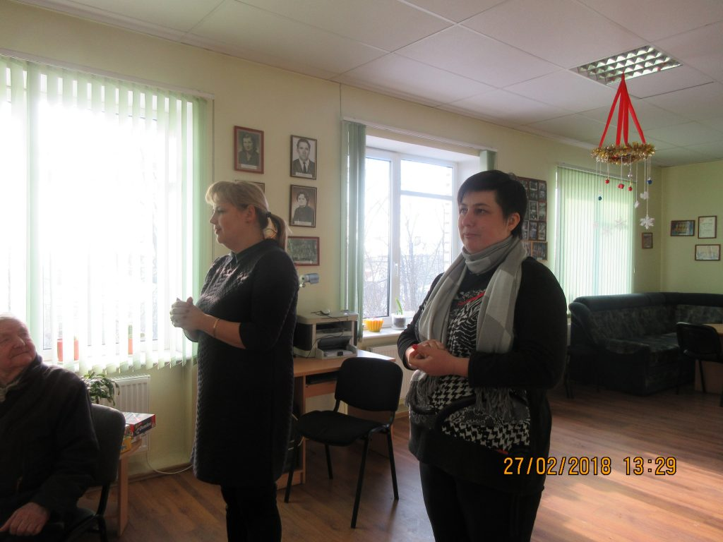 57. Visiting the Rezekne department of the Latvian Association of the Deaf